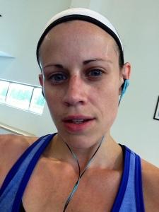 Super sweaty!!