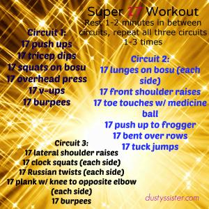 Super 17 Workout