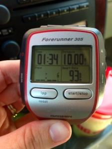 garmin 10 miles