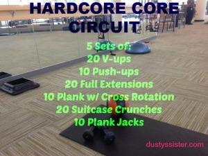 hardcore core circuit