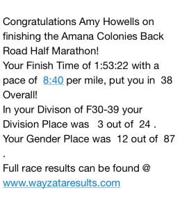 amana half results