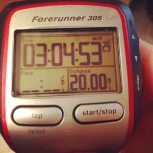 garmin 20 miles